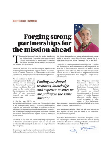Page 3 of Forging strong partnerships for the mission ahead
