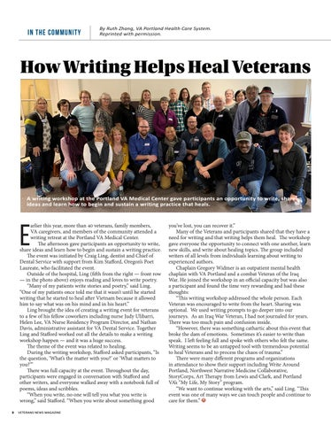 Page 8 of How Writing Helps Heal Veterans
