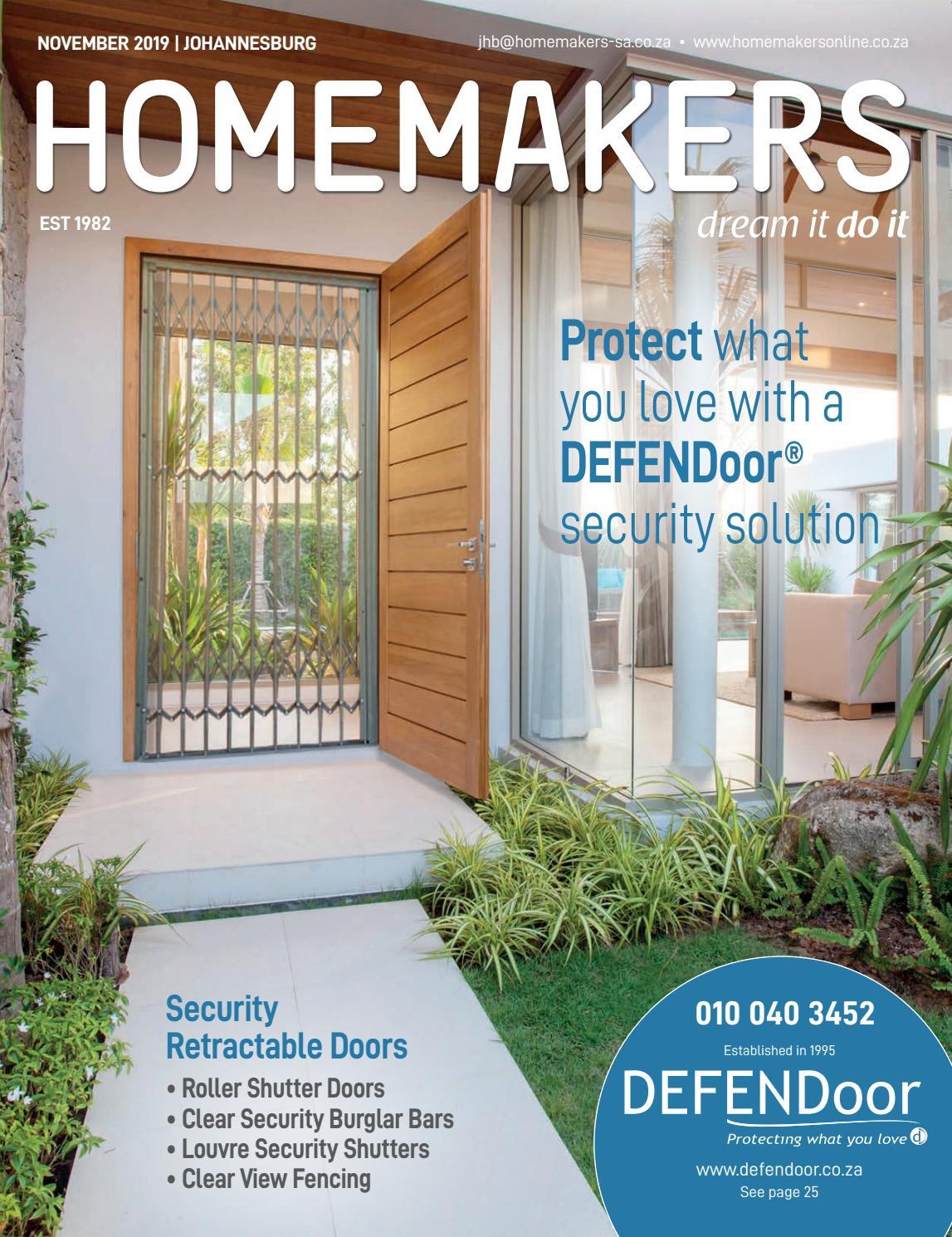 Homemakers Johannesburg November 2019 By Homemakers Issuu