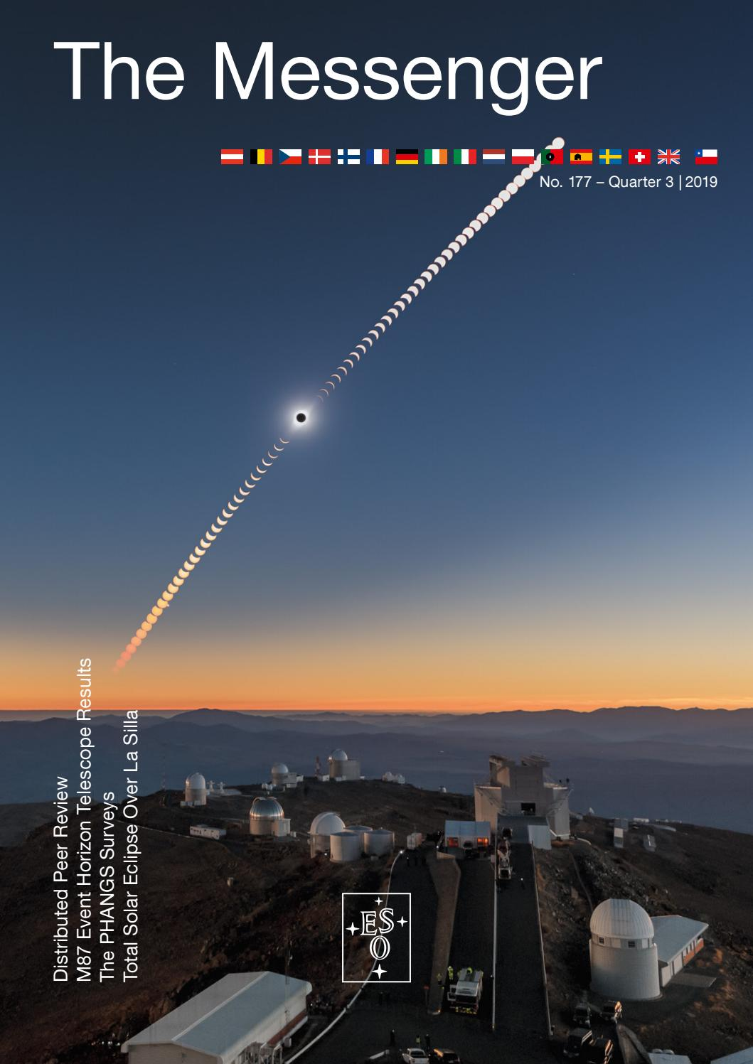 The Messenger 21 by European Southern Observatory   issuu