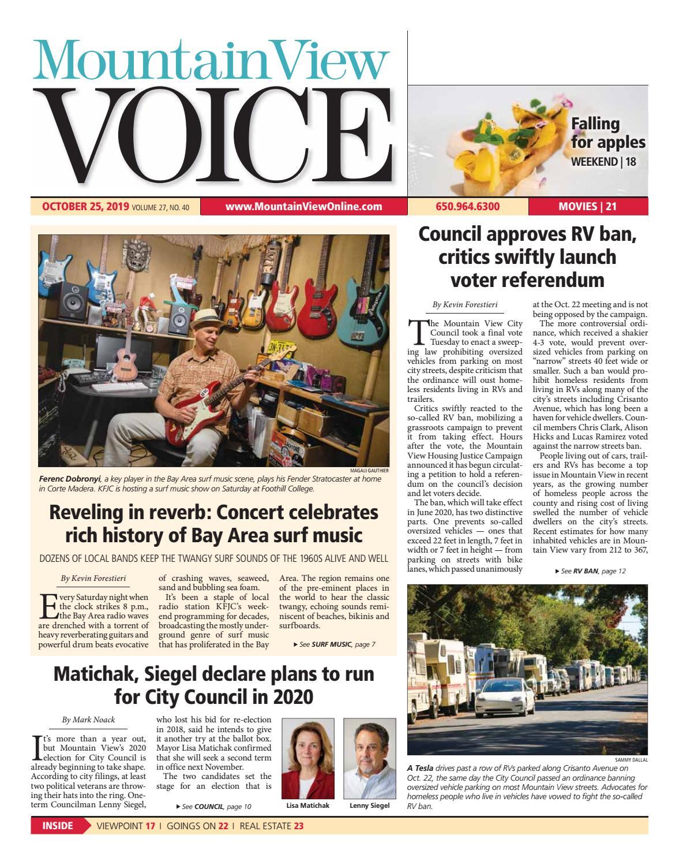 Sylvan Park Halloween October 31 Mountain View 2020 Mountain View Voice October 25, 2019 by Mountain View Voice   issuu