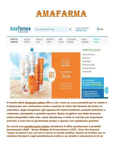Parafarmacia Online By Amafarma Issuu