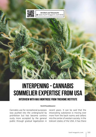 Page 113 of Interpening - Cannabis Sommelier Expertise from USA