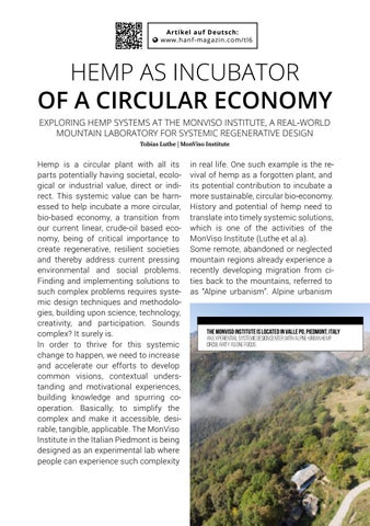 Page 61 of Hemp as Incubator of a circular Economy