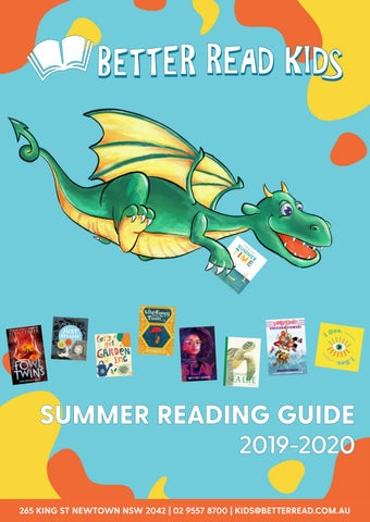 Summer Reading 2020.Better Read Kids Summer Reading Guide 2019 2020 By Better