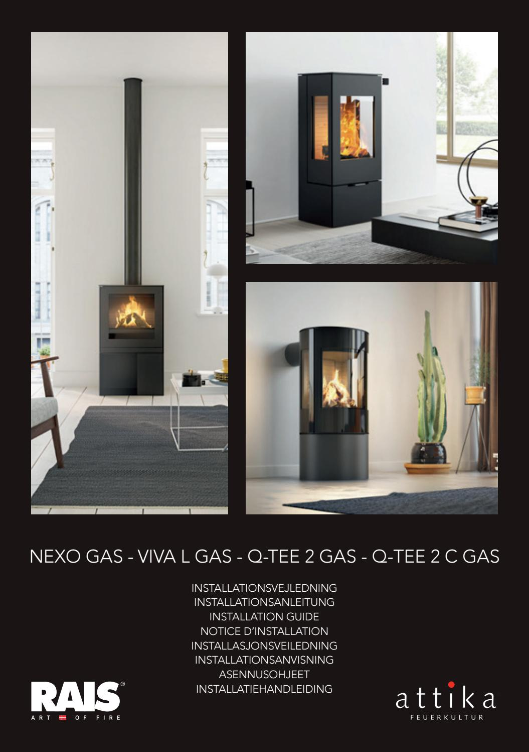 Nexo Gas Viva L Gas Q Tee 2 Gas Q Tee 2 C Gas Installation Manual By Rais A S Issuu