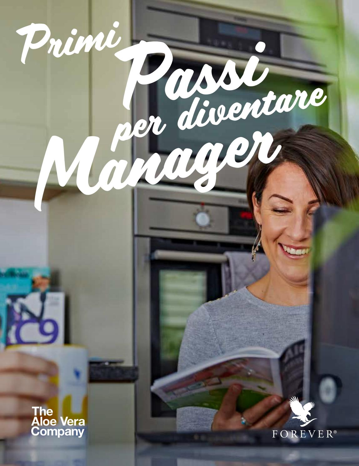 Manuale Della Forever Living Products Come Diventare Manager Forever Italian Version By Forever Living Products Italy Issuu
