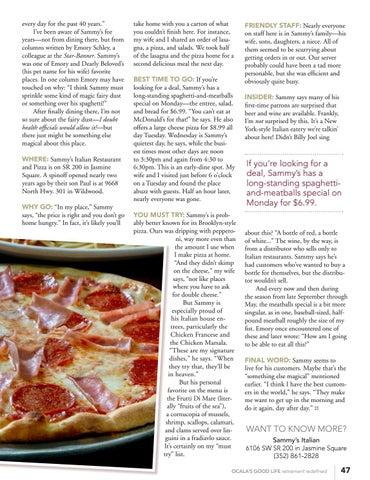 Page 49 of Sammy's Italian