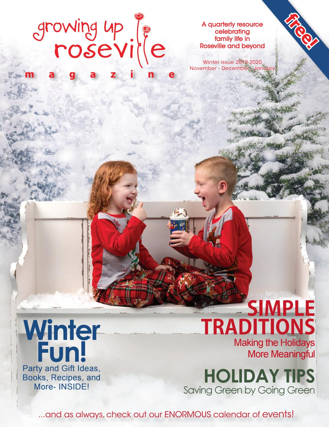 Fountains Roseville Events 2020.Winter 2019 2020 Issue By Growing Up Roseville Issuu