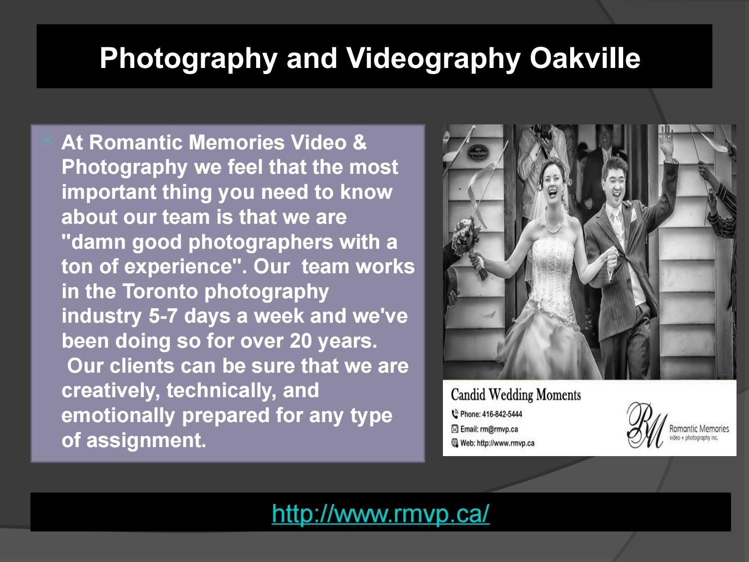 The Works Oakville >> Best Photography And Videography Oakville Rmvp By Rmvp Ca