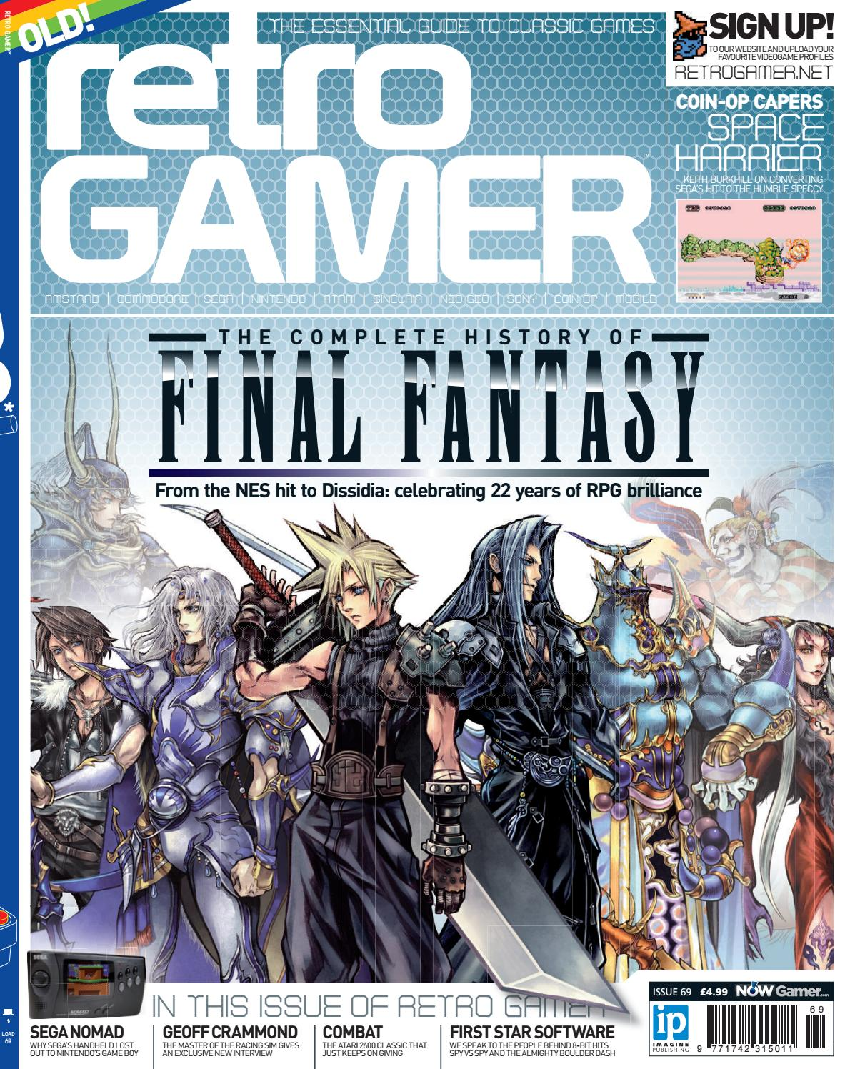 Retro Gamer 069 by Roy Lazarovich - issuu -