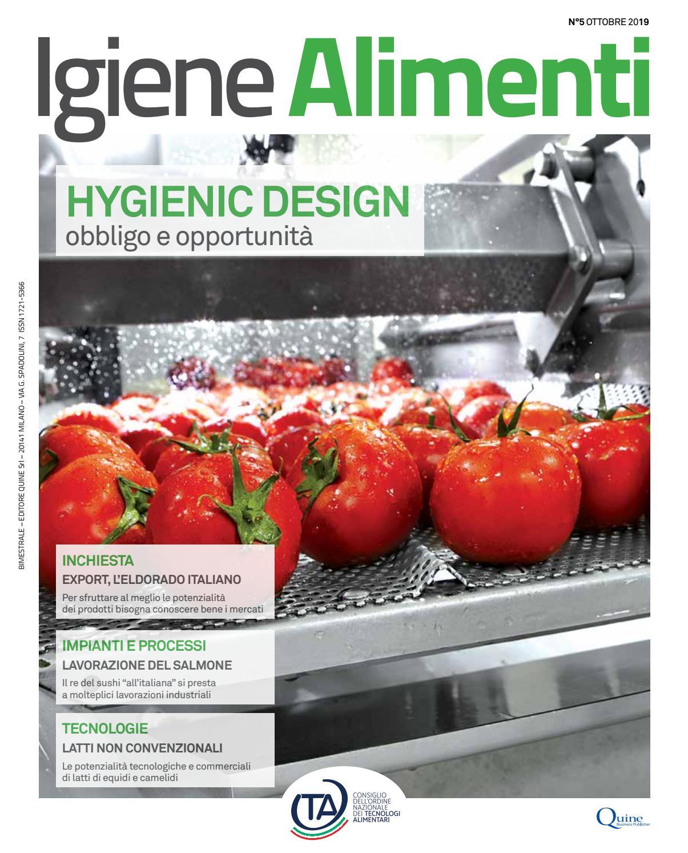 Trattamento Legno Per Uso Alimentare igiene alimenti n.5/2019 - rivista ufficiale ordine