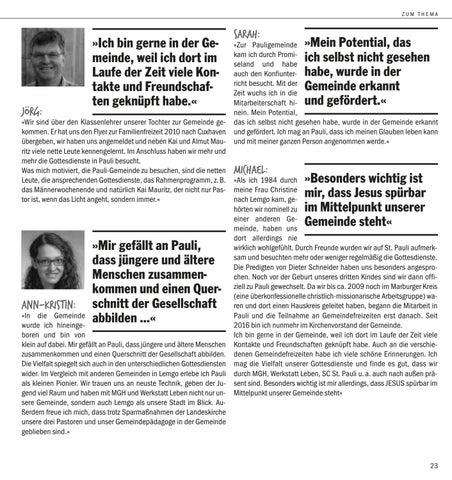 Page 5 of Warum wir dich in St. Pauli Lemgo noch brauchen