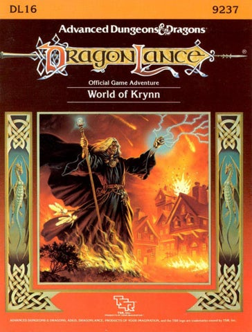 Dl16 World Of Krynn By Mfrances73 Issuu