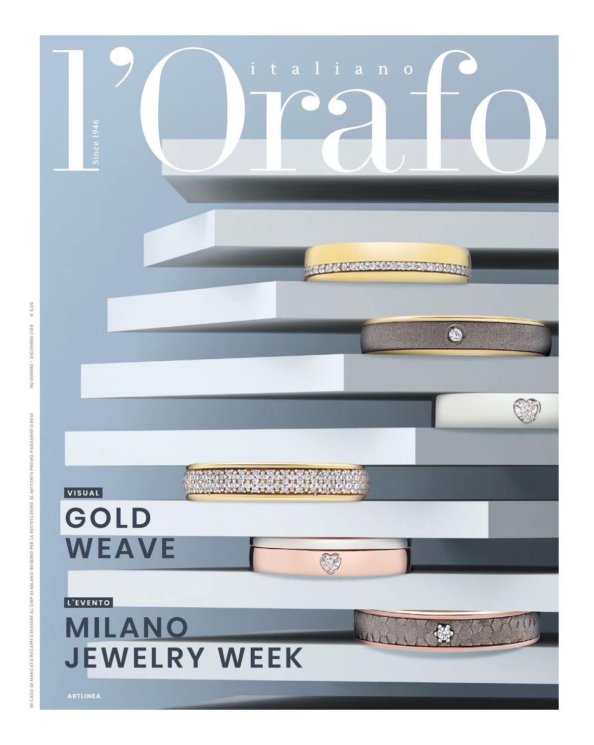 l'Orafo Italiano 11 12 2019 by Edifis issuu