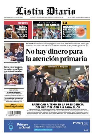 Ld 29 10 2019 By Listín Diario Issuu