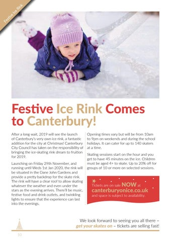 Page 10 of Festive Ice Rink Comes to Canterbury!