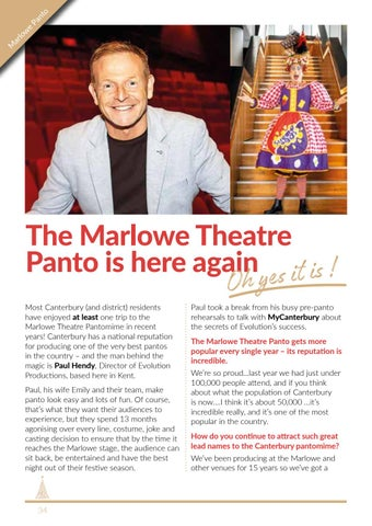 Page 34 of The Marlowe Theatre Panto is here again (Oh yes it is) !