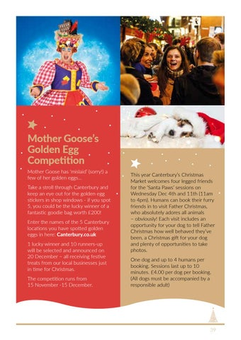 Page 39 of Canterbury's Christmas Market and Santa's Grotto 2019