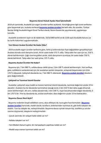 Bosanma Avukati By Kanadadilokulu4 Issuu