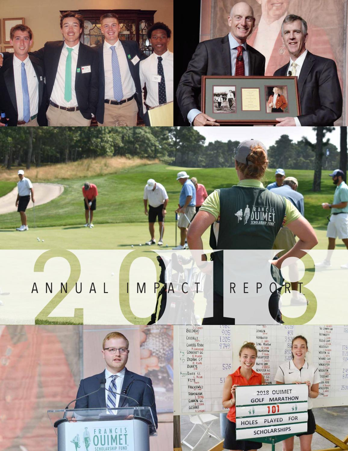 2018 Ouimet Fund Annual Impact Report By Francis Ouimet Scholarship Fund Issuu Jen a'hearn is on facebook. 2018 ouimet fund annual impact report