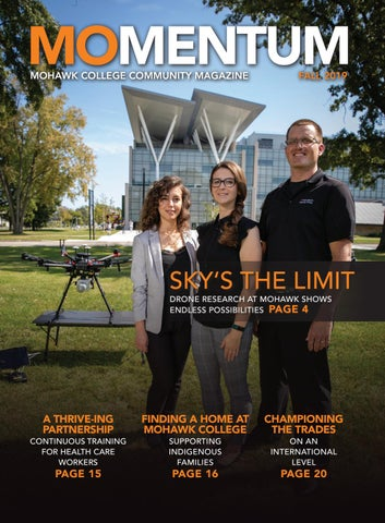 Momentum Magazine Fall 2019 By Mohawk College Issuu