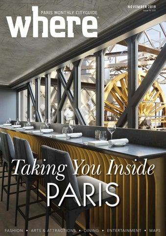 Where Magazine Paris Nov 2019 by Morris Media Network issuu