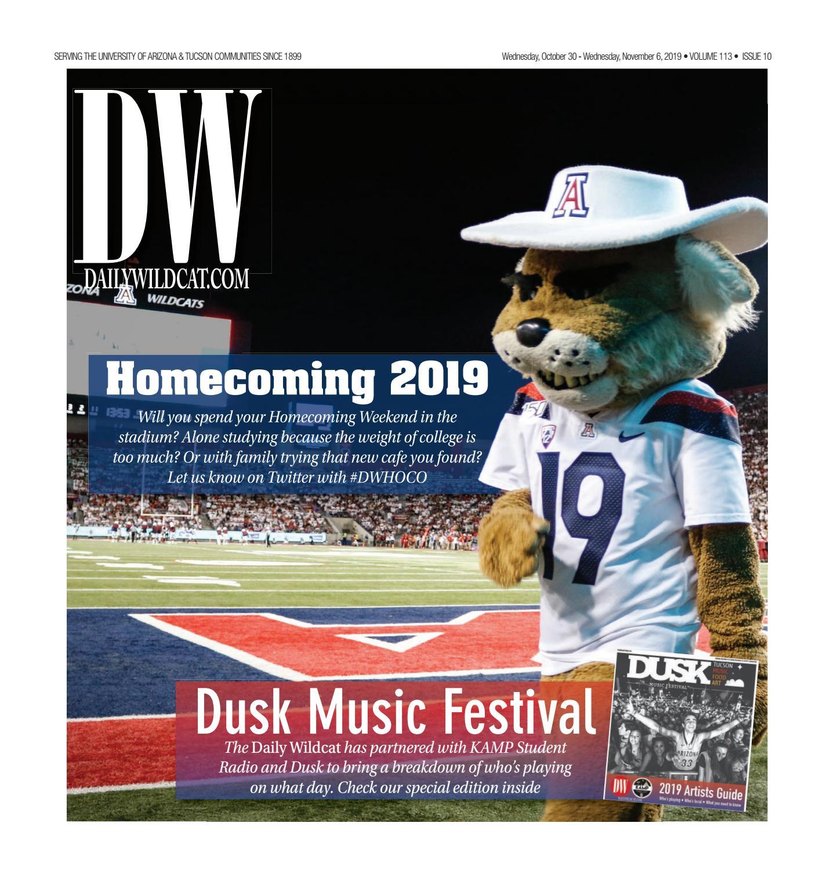 10 30 19 Homecoming By Arizona Daily Wildcat Issuu