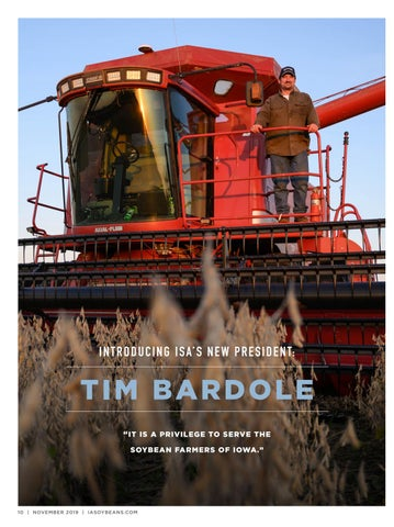 Page 10 of Introducing ISA'S New President: Tim Bardole