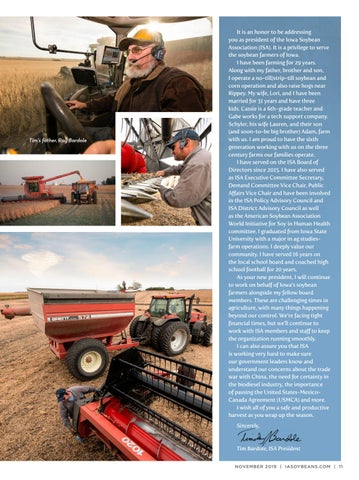 Page 11 of Introducing ISA'S New President: Tim Bardole