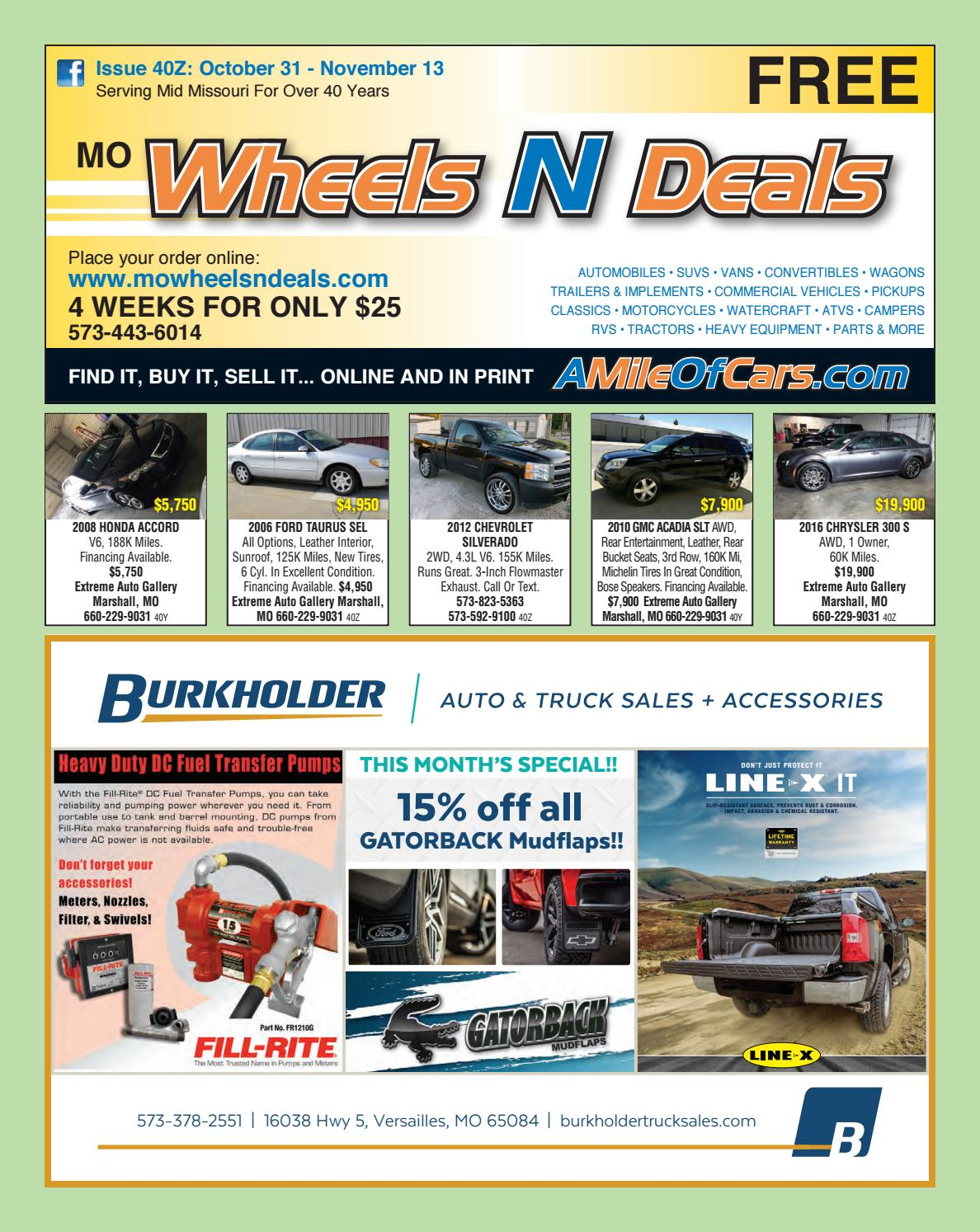 Extreme Auto Sales >> Wheels N Deals Issue 40z By Maximum Media Inc Issuu