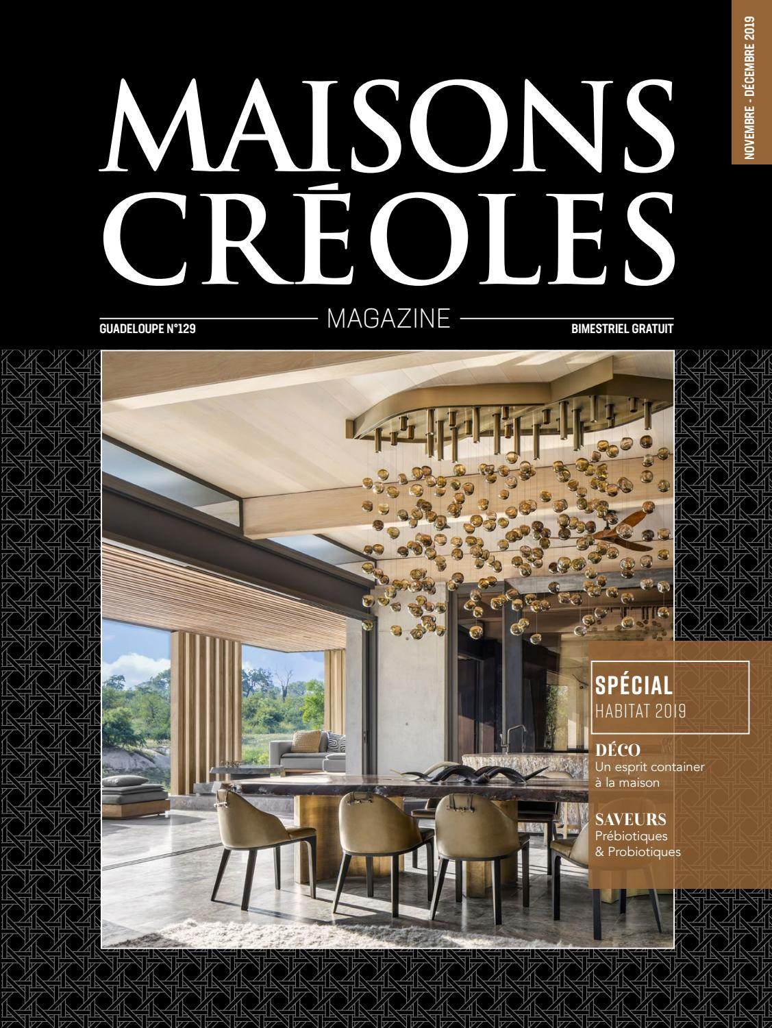Magazine Maisons Creoles N 129 Guadeloupe By Magazine
