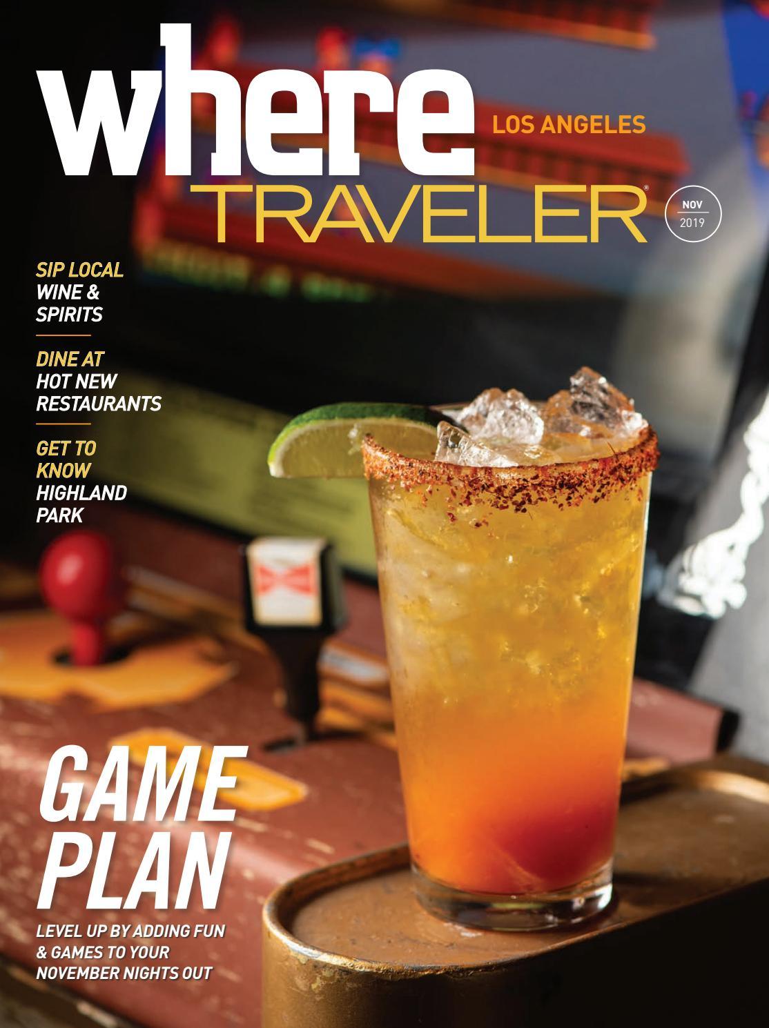 Where Traveler Los Angeles Magazine Nov 2019 By Socalmedia