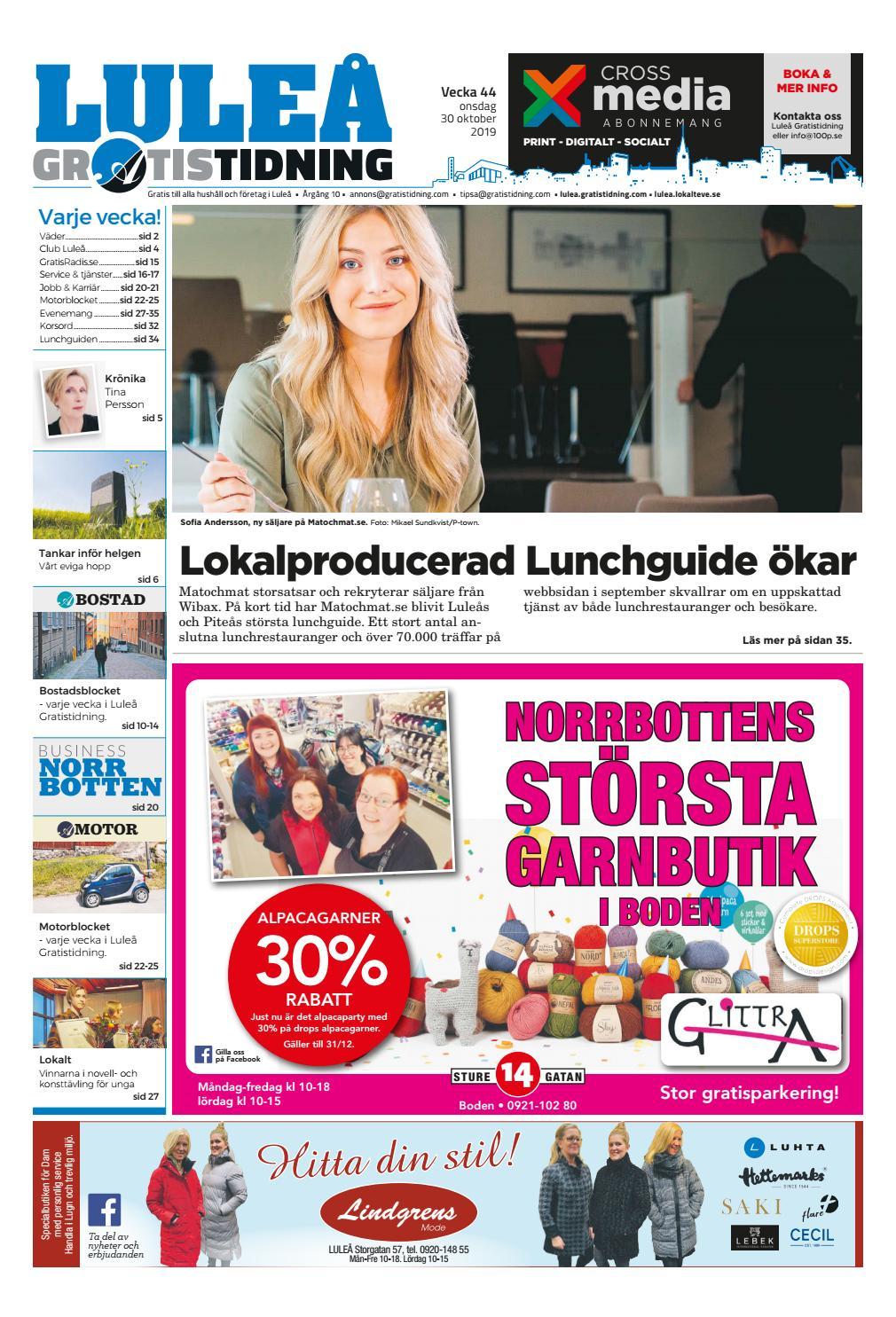 estniska kvinnor söker män i luleå dejtingsajter i kristianstad