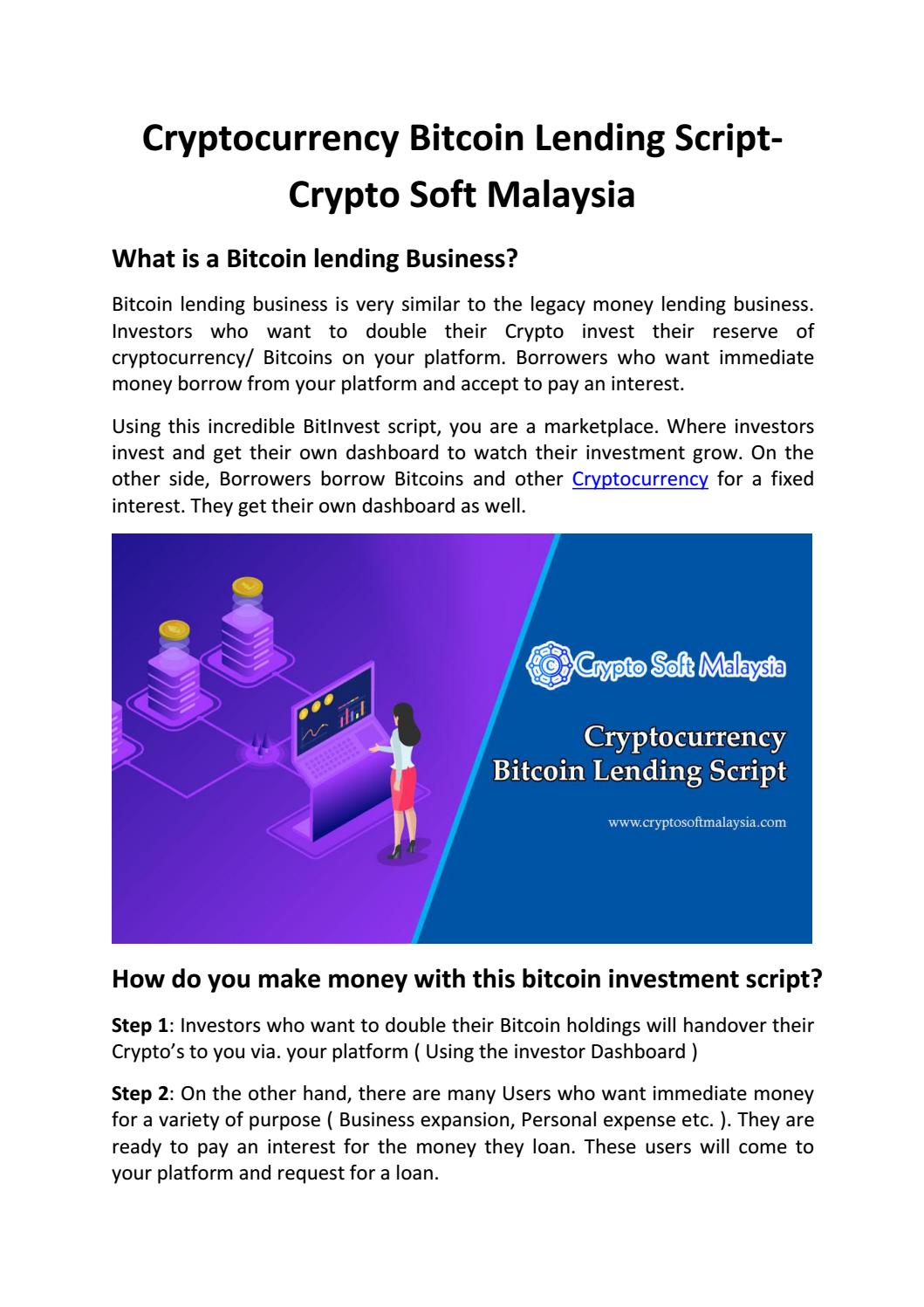 how to invest in cryptocurrency in malaysia