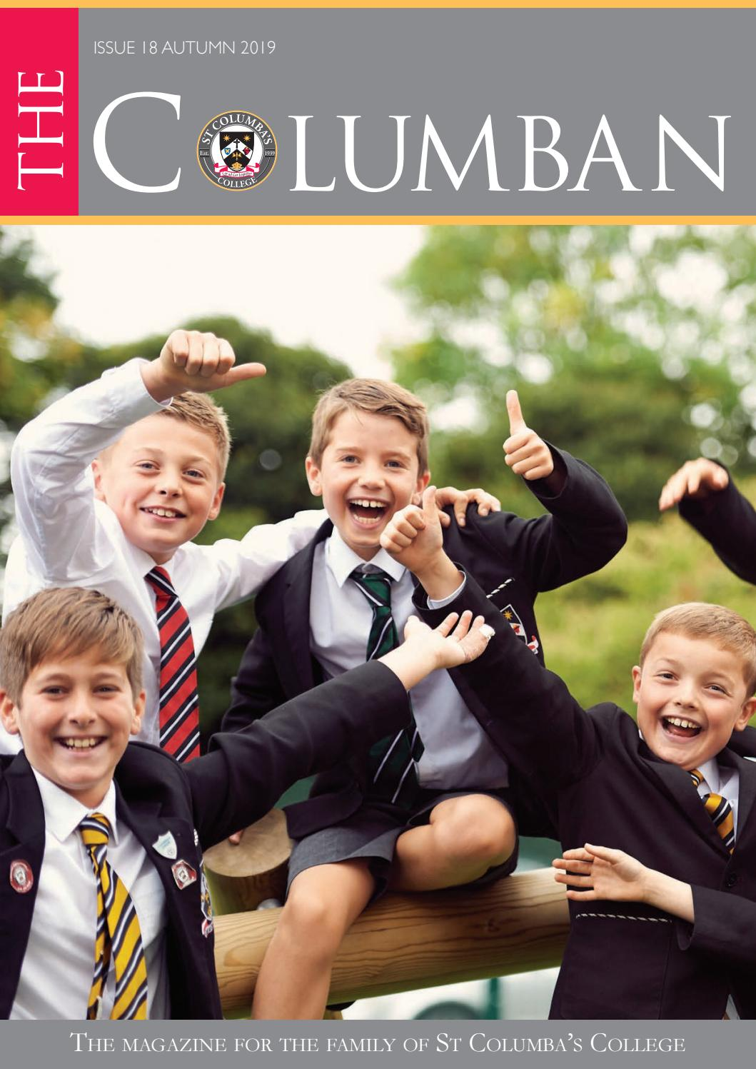 The Columban Magazine for the family of St Columba's College by ...