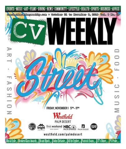 Coachella Valley Weekly October 31 To November 6 2019 Vol