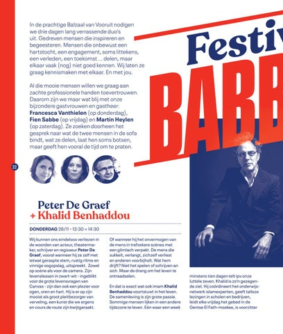 Page 24 of Festivalbabbels op Festival van de Gelijkheid 2019