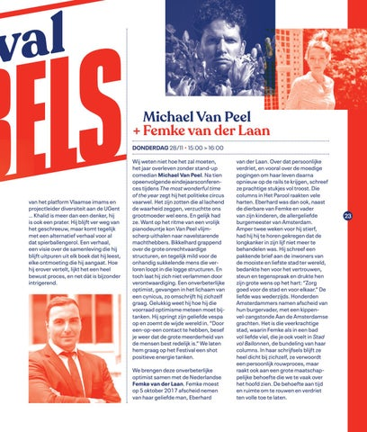 Page 25 of Festivalbabbels op Festival van de Gelijkheid 2019