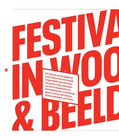 Page 36 of Festivaldichters, festivaltekenaars en live illustratie bij de festivalbabbels 'Festival van de Gelijkheid 2019'