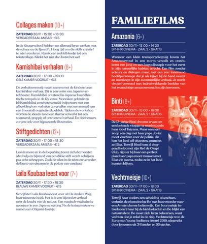 Page 59 of Familieprogramma Festival van de Gelijkheid 2019