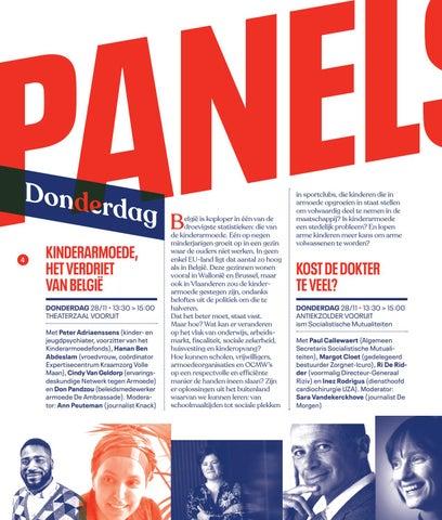 Page 6 of Panels op donderdag, vrijdag en zaterdag 'Festival van de Gelijkheid 2019'