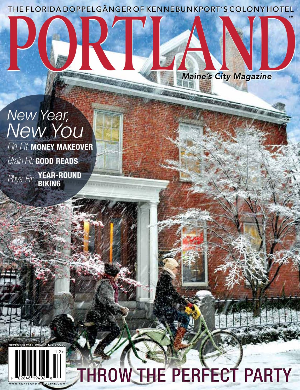 Portland Monthly Magazine December 2015 by