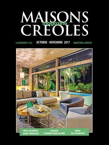 Magazine Maisons Créoles N102 Réunion By Magazine Maisons