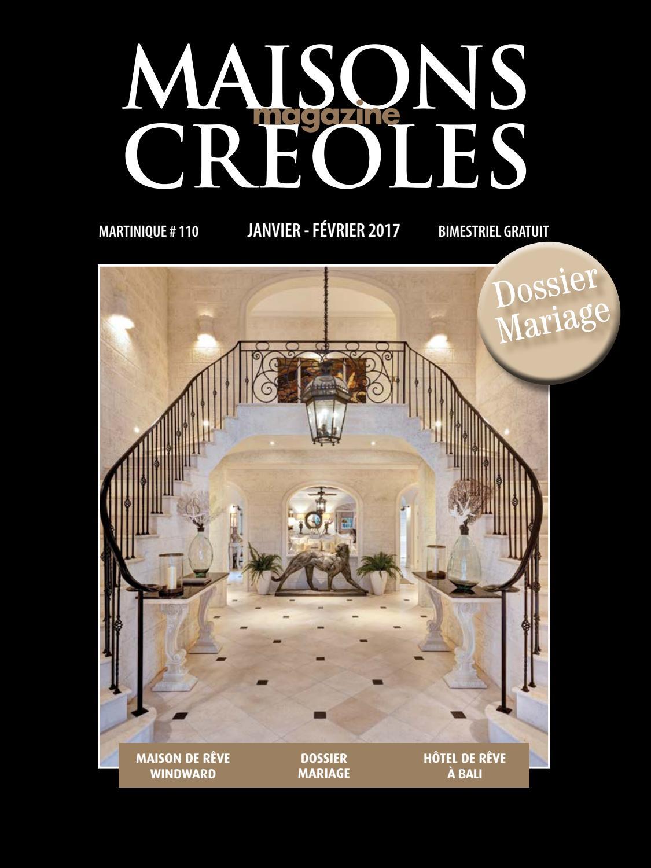 Magazine Maisons Créoles N110 Martinique By Magazine