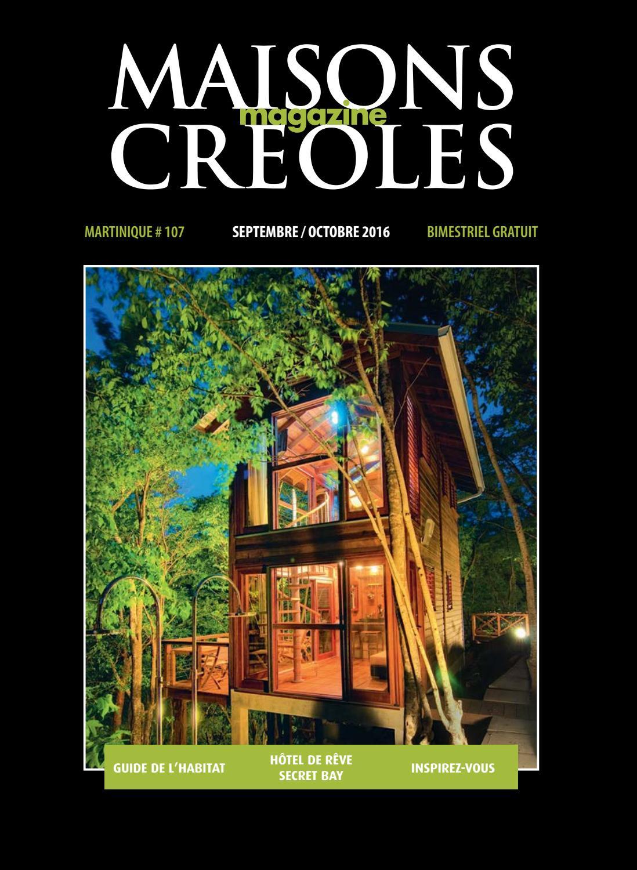 Largeur Minimum Couloir Maison magazine maisons créoles n°107 martiniquemagazine