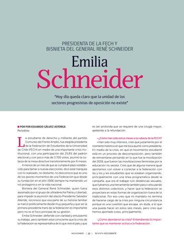 Page 12 of Entrevista a Presidenta de la FECH y bisnieta del General René Schneider.