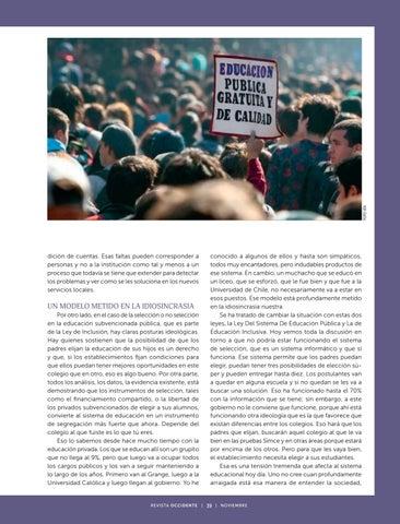 Page 41 of Entrevista a Beatrice Ávalo, Integrante de la dirección del Centro de Investigación Avanzada en Educación de la Universidad de Chile