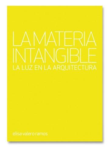 La Materia Intangible Elisa Valero By Tc Cuadernos Issuu