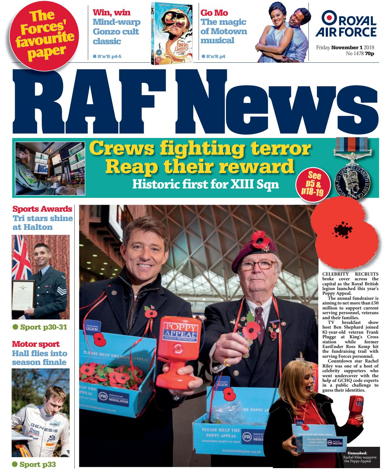 ® Station Driffield Cufflinks in Gift Box RAF Royal Air Force